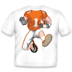Football Orange White 462