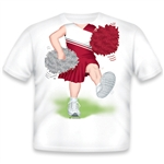 Cheerleader Red/White 468