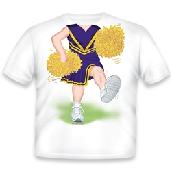 Cheerleader Purple/Gold 476