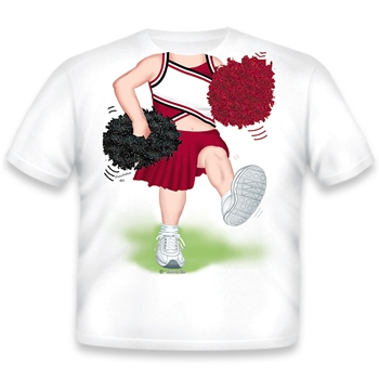 Cheerleader Burgundy/Black/White 481