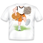 Cheerleader White/Orange/Black 482
