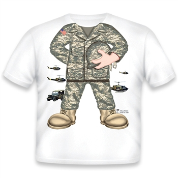 Army Boy Basic Camo 490