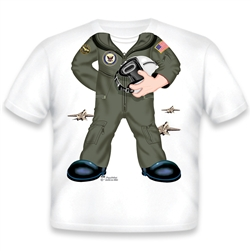 Navy Boy Flight Suit 498