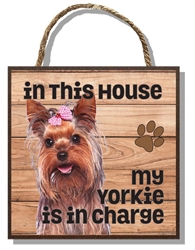 Yorkie in Charge 60003
