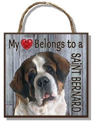Saint Bernard Heart 60019