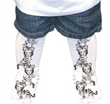 White Tiger Cub Socks 7099