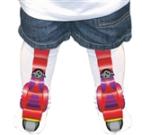 Robot Feet Red 7108