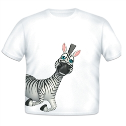 Zebra Sidekick Toddler T-shirt