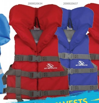 Stearns Child Lifejacket Red