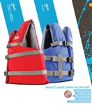 Stearns Adult Universal Lifejacket Red