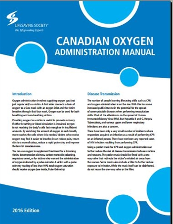 Canadian Oxygen Administration Manual