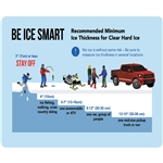 Water Smart Ice Thickness Card