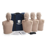 Prestan Professional Child CPR-AED Training Manikins (4 Pk) (w CPR Monitors)