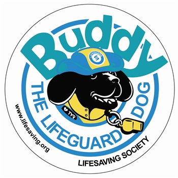 Buddy the Lifeguard Dog Tattoo (Qty 100)