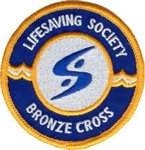 Bronze Cross Crest - Pack of 20