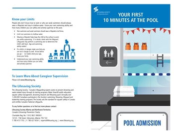 First Ten Minutes at the Pool Brochure (50PK)