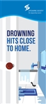 Drowning Hits Close to Home Rack Card PK of 100