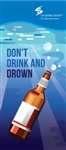 Don't Drink and Drown Rack Card PK of 100