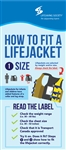 How to Fit a Lifejacket Rack Card PK of 100