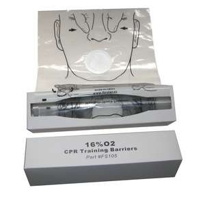 16% 02 CPR Training Barrier (Face Shield)(roll of 36)