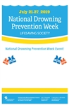 Water Smart National Drowning Prevention Week Poster