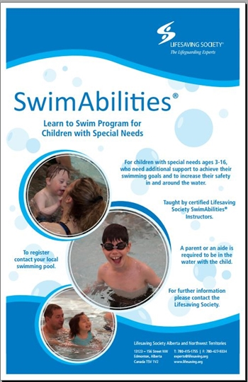 SwimAbilities Poster 11 x 17