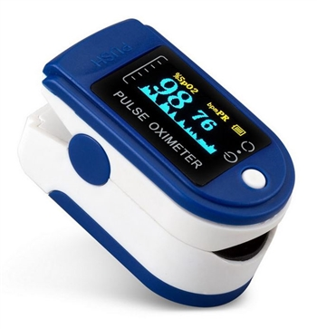 Deluxe Pulse Oximeter (AAA Batteries Not Included)