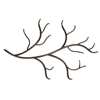 Pictured here is the Rustic Woodland Wrought Iron Wall Coat Rack by Stone County Ironworks