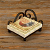 Wrought Iron Siena Dinner Napkin Holder by Bella Toscana
