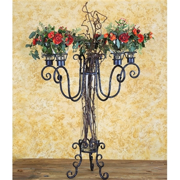 Pictured here is the Siena Arezzo Candelabra by Bella Toscana