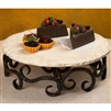 Pictured here is the Wrought Iron Siena Lazy Susan by Bella Toscana