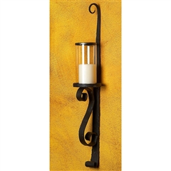 Wrought Iron Tuscan Candle Hurricane by Bella Toscana