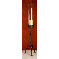 Wrought Iron Tuscan 36in Grand Candlestick by Bella Toscana