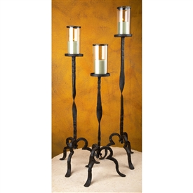 Wrought Iron Tuscan Grand Candlestick Set by Bella Toscana