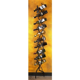 Pictured here is our Wrought Iron Wall Wine Holder