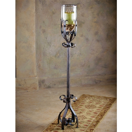 Wrought Iron Amalfi Grand Vase - Floor by Bella Toscana