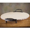 Siena 2 Handle Marble Server by Bella Toscana
