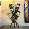 Pictured here is the Wrought Iron Wine Tree holds 5 Bottle by Bella Toscana