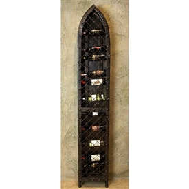 Pictured here is the 19 Bottle Wine Wall Rack by Bella Toscana