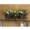 Wrought Iron Triple Vase Candleholder by Bella Toscana