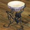 Pictured here is the Vineyard Raised Marble Bowl Server by Bella Toscana