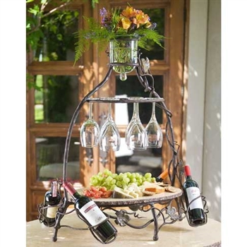 Pictured here is the Vineyard Celebration Server by Bella Toscana