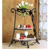 Pictured here is the Wrought Iron Event Server by Bella Toscana