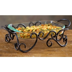 Wrought Iron Siena Server by Bella Toscana