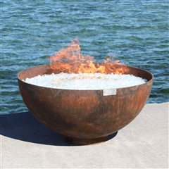 Big Bowl O'Zen Firebowl by John T. Unger