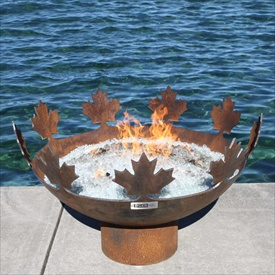 Big Bowl O Canada 37 Quot Diameter Outdoor Firebowl John T