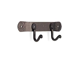 Wrought Iron 2 Tool Fireplace Hook by Pilgrim