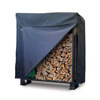 Pictured here is the Premium Utility Wood Rack Cover on the outdoor garden and wood rack item #18565