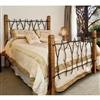 Wrought Iron South Fork Bed by Mathews & Co.