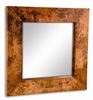 Pictured here is the Small Square Copper Mirror from Mathews and Company